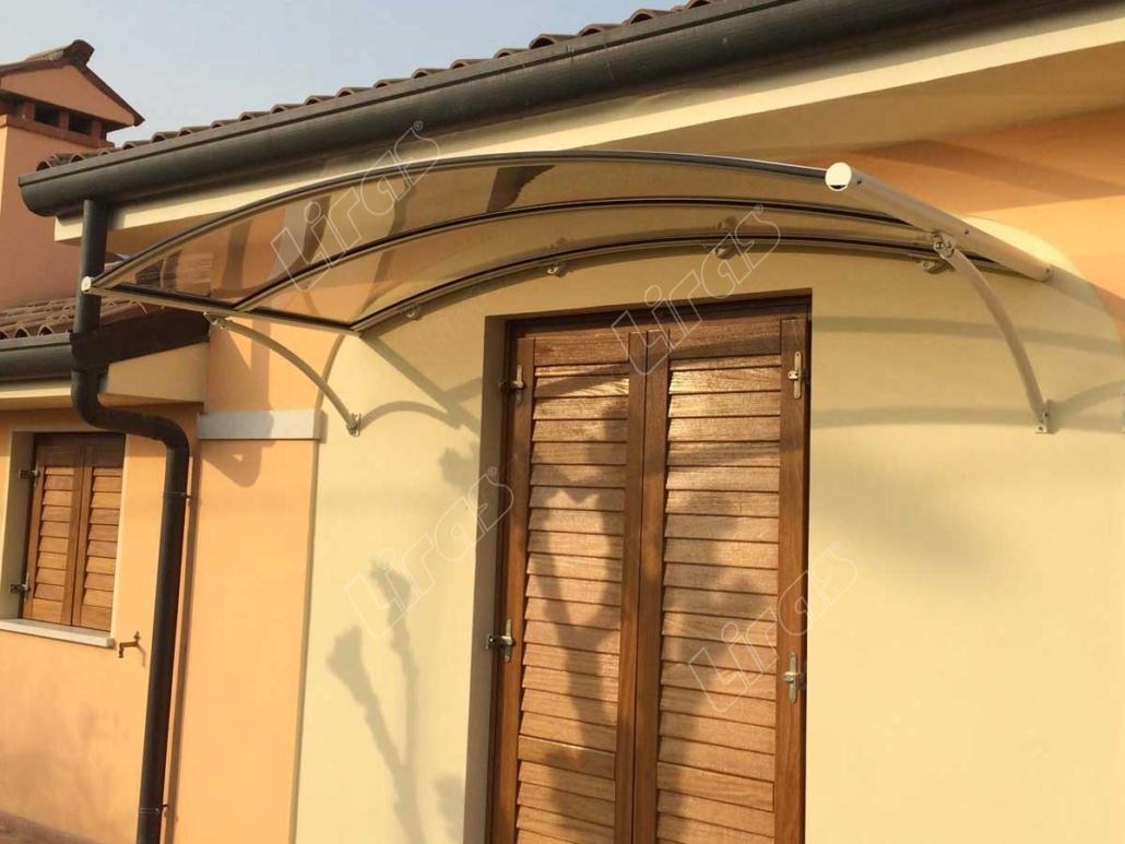 Pensiline per finestre e porte in plexiglass liras vicenza - Porte e finestre vicenza ...