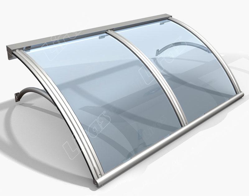 Pensiline in vetro plexiglas e policarbonato adatte per - Finestre in plexiglass ...